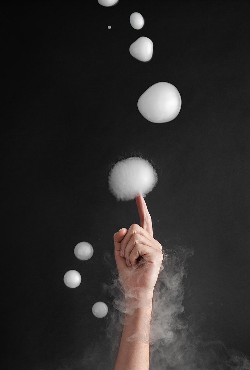 Dry Ice Bubbles