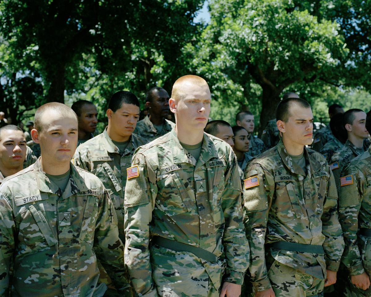 Basic Combat Training, Fort Sill, Oklahoma, 2017