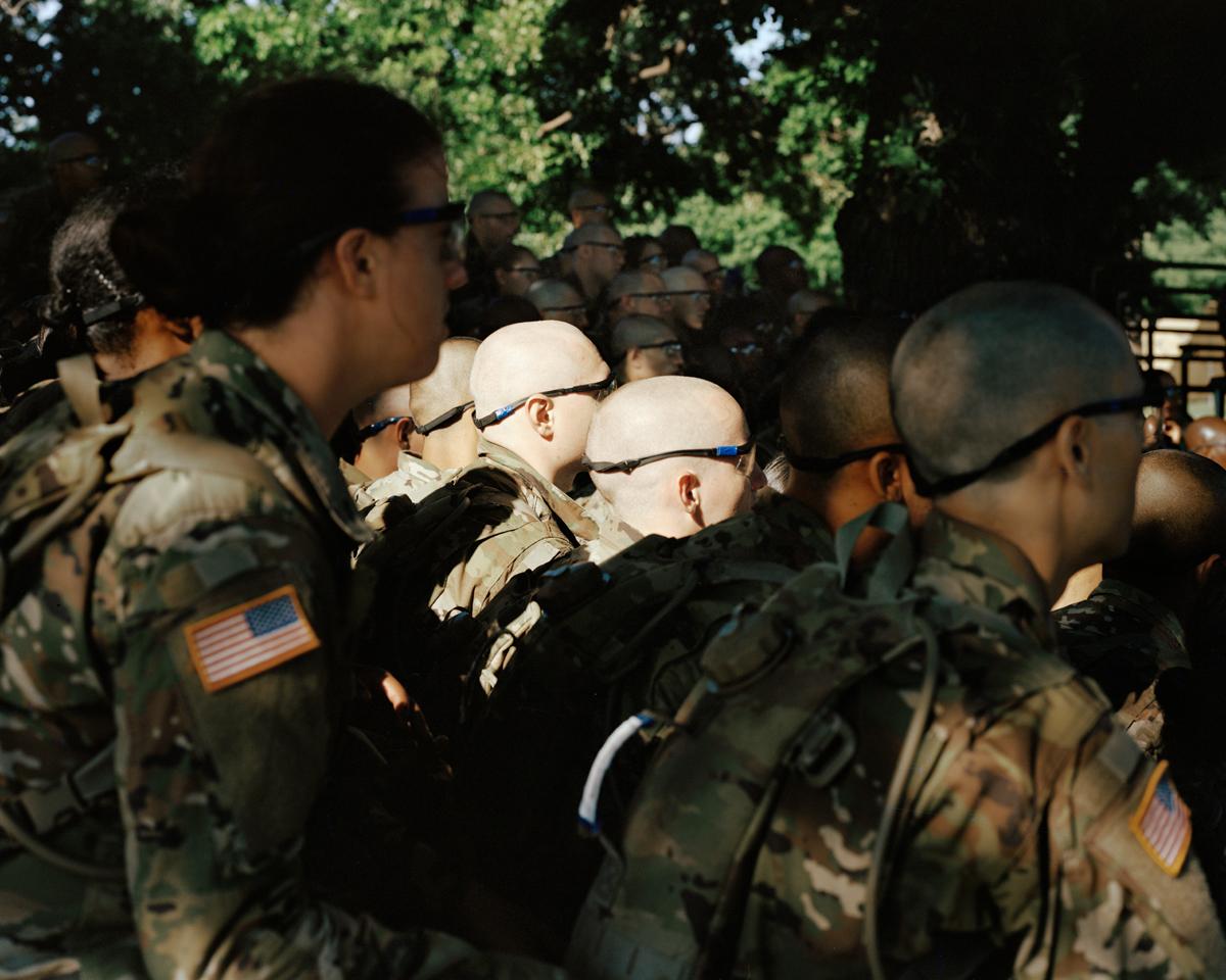 Basic Combat Training, Fort Sill, Oklahoma, 2018