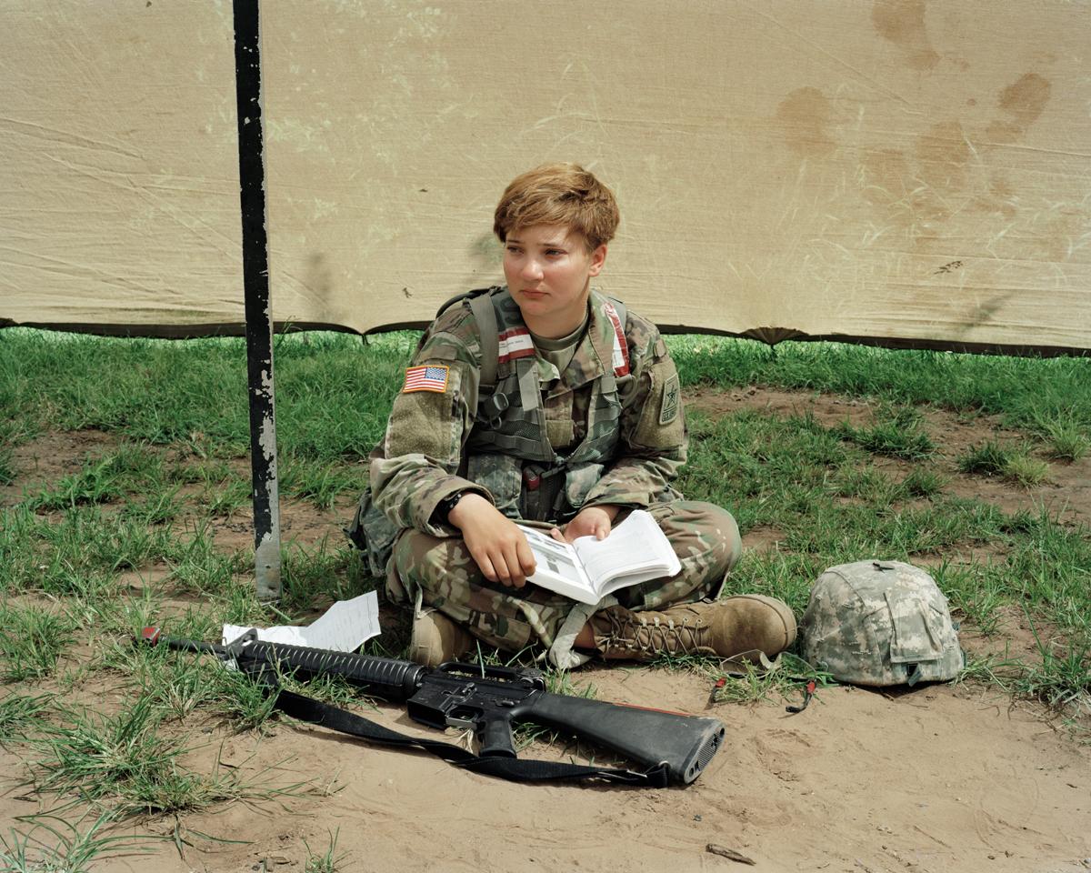 Grenade Training, Basic Combat Training, Fort Sill, Oklahoma, 2017