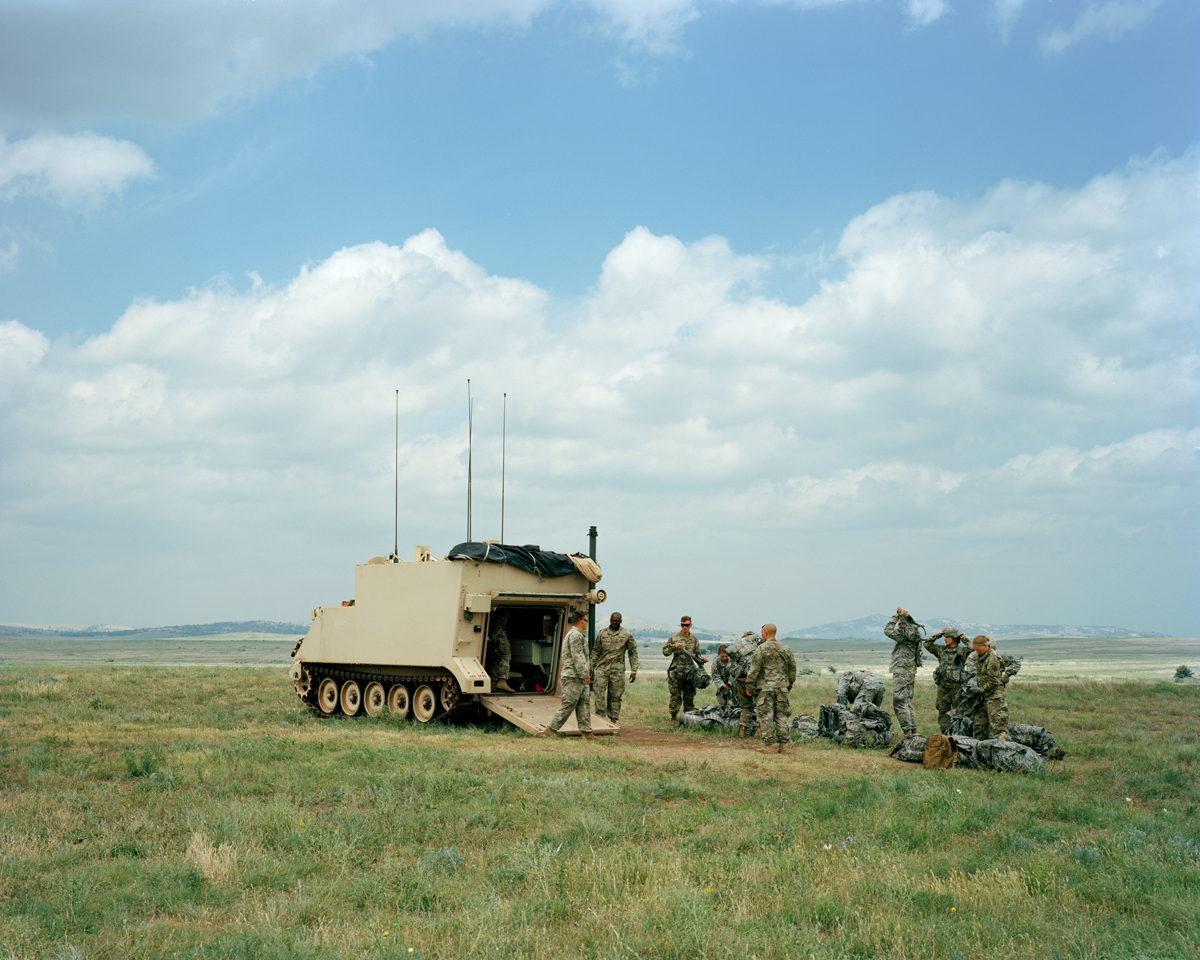 Personnel Carrier, Fort Sill, Oklahoma, 2017