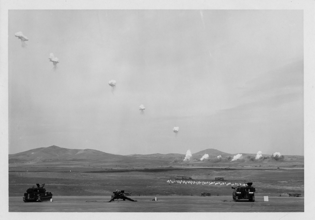 Archival Photograph, U.S. Army Field Artillery Museum, Fort Sill, Oklahoma