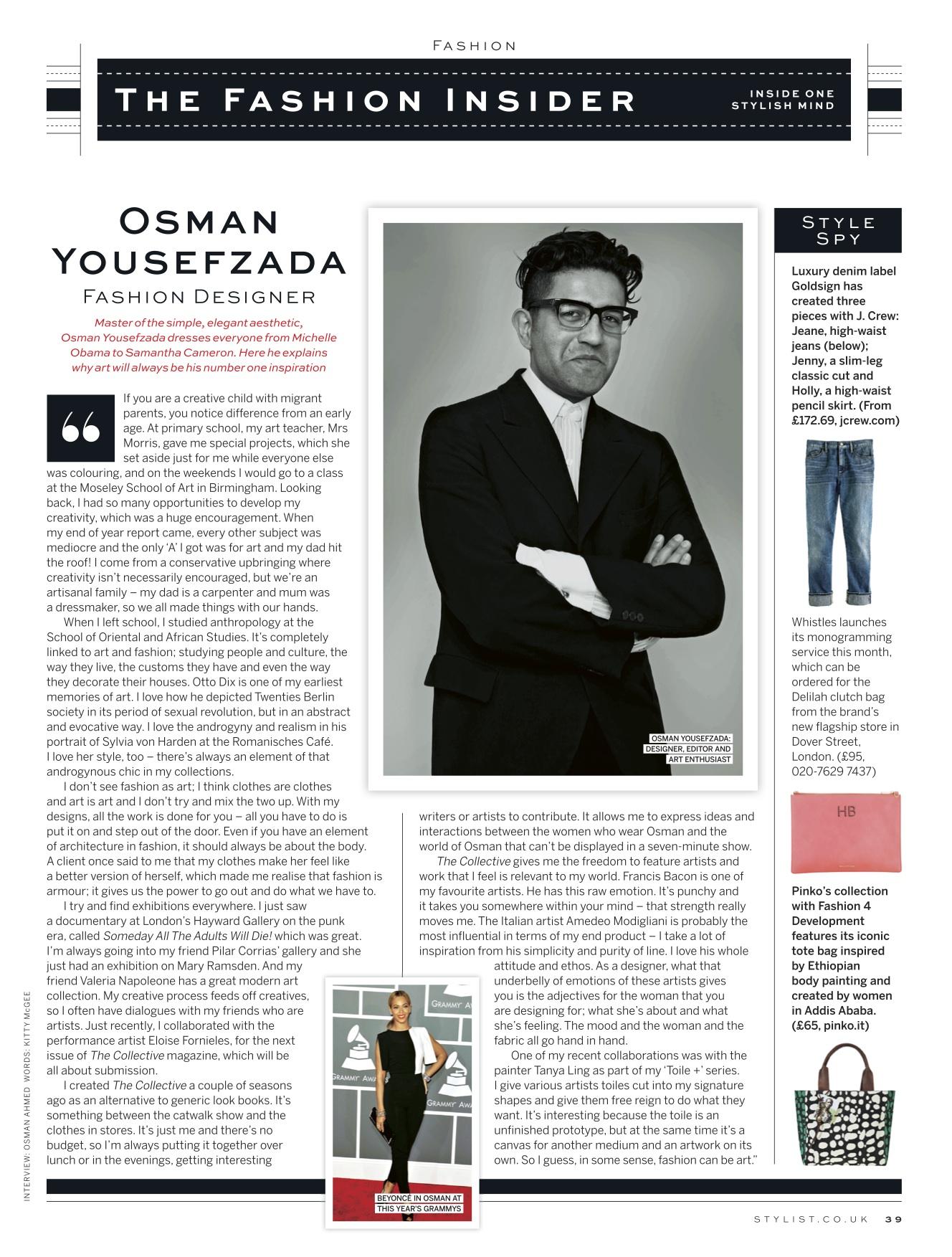 Osman Yousefzada Stylist