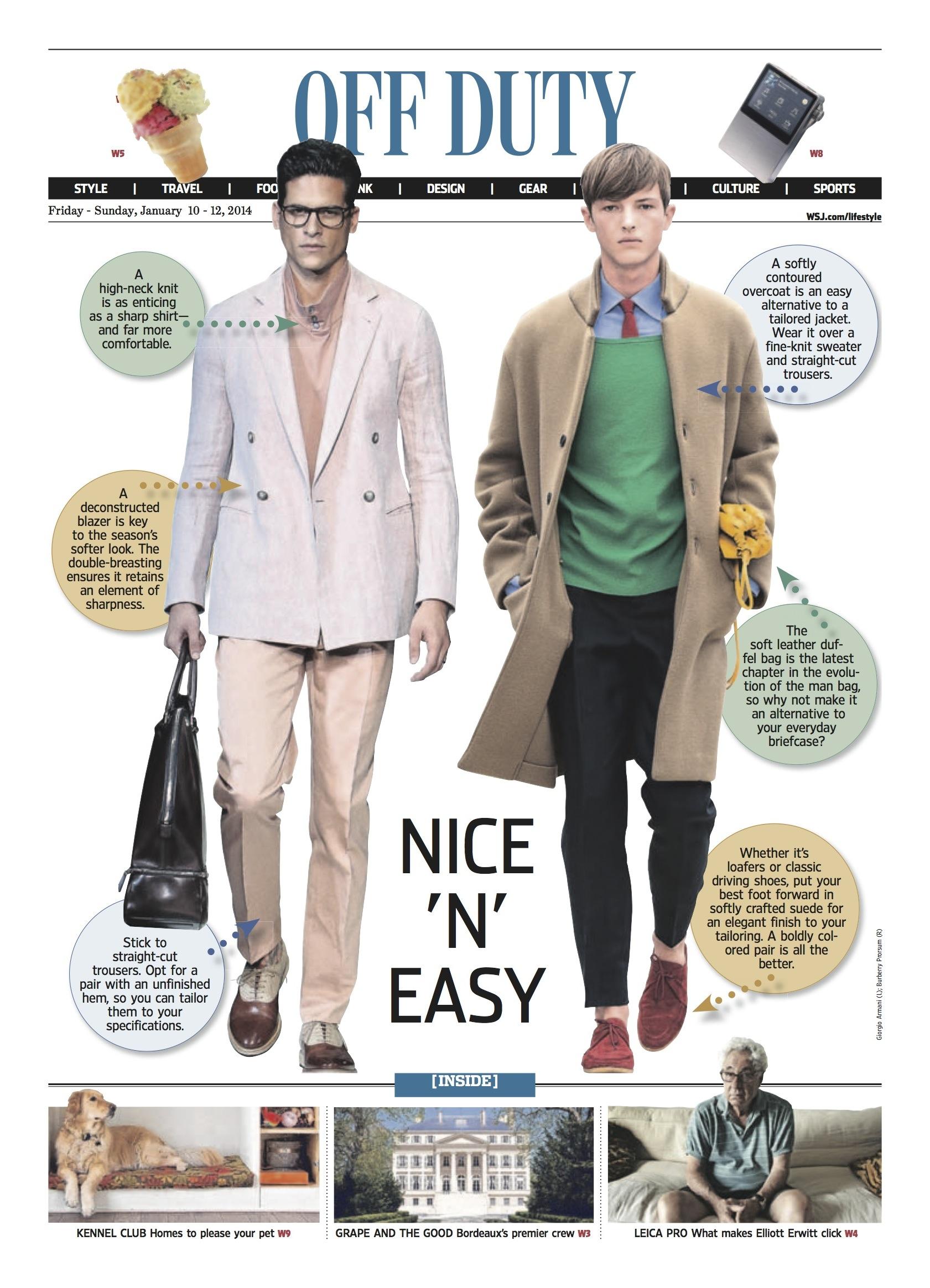 Nice 'N' Easy, Wall Street Journal
