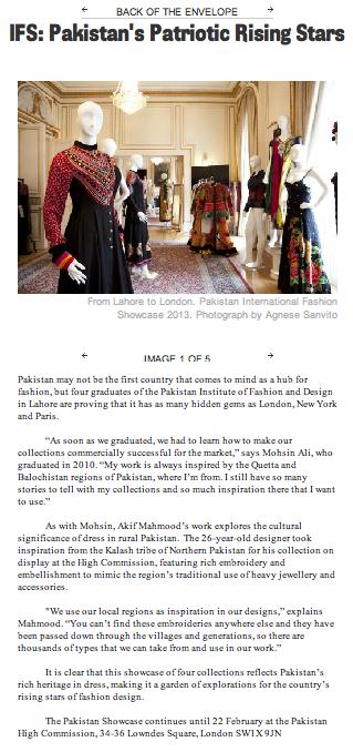 Pakistan, British Council's IFS