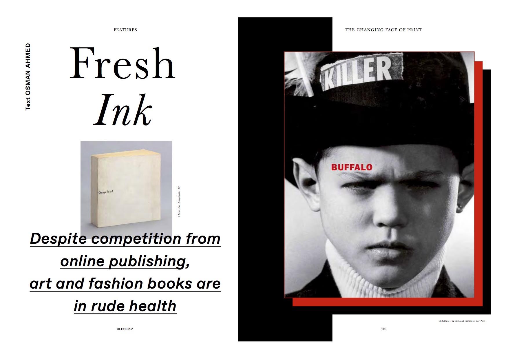 Fresh Ink, Sleek (Books)