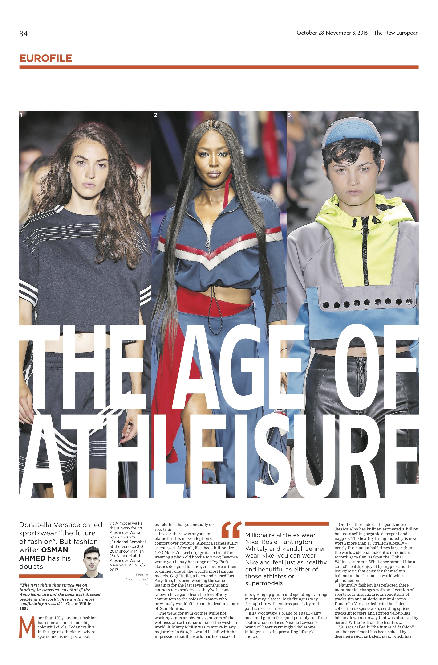 THE AGE OF ATHLEISURE