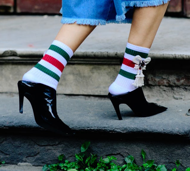 SOCKS, FASHION'S NEW SECRET WEAPON