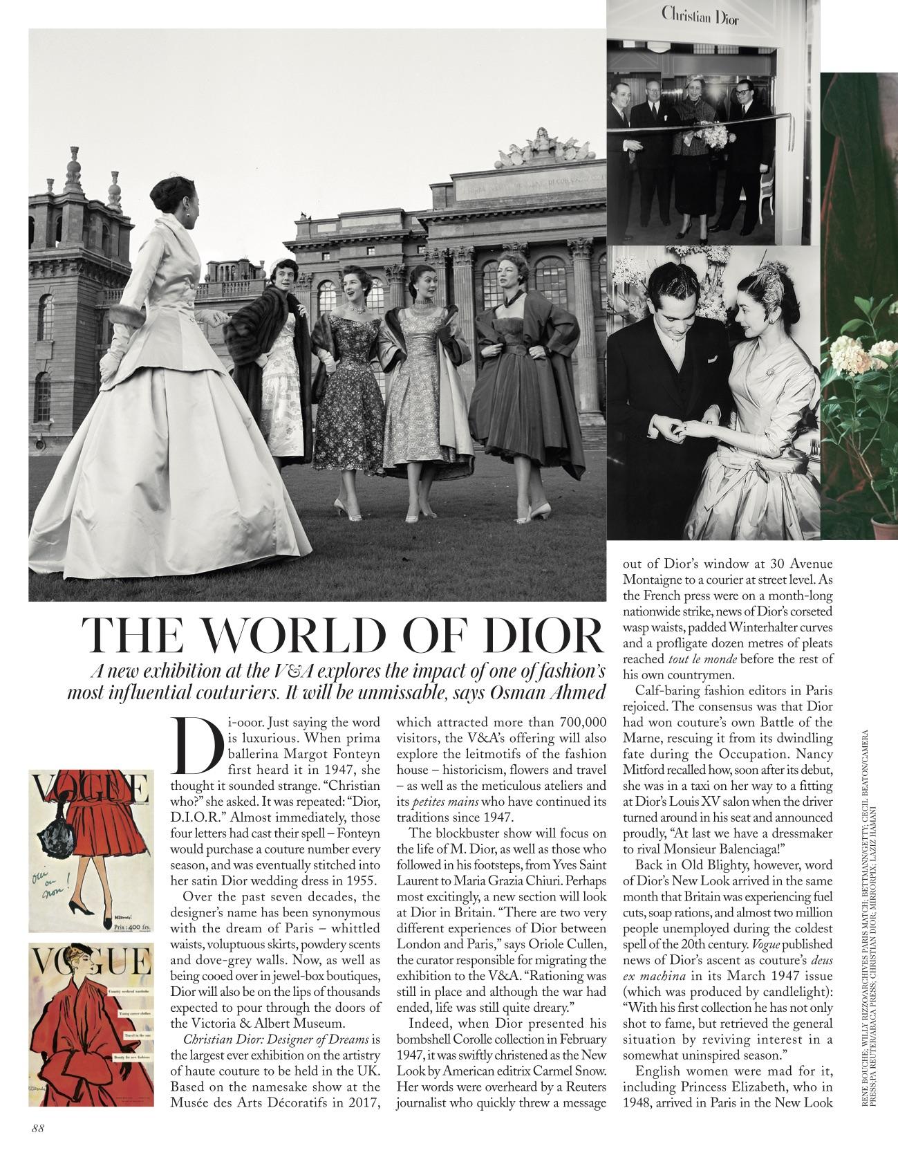 Osman Ahmed Dior Vogue