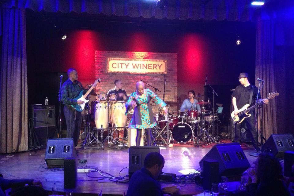 City Winery, Chicago February 2014