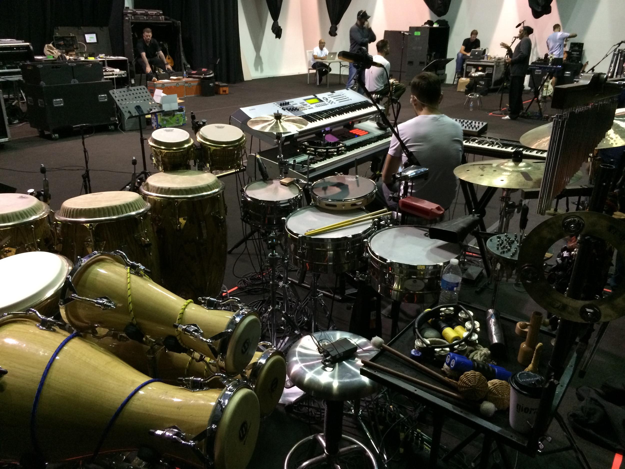 Ricky Martin Rehearsals Mexico September 2014