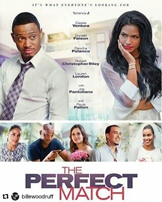 Get your copy! #july19 #theperfectmatch  #Repost @billewoodruff ・・・ Check out my movie #ThePerfectMatch available on DVD & Digital July 19 🙌🏾🔥😄 #DirectorLife 🎥