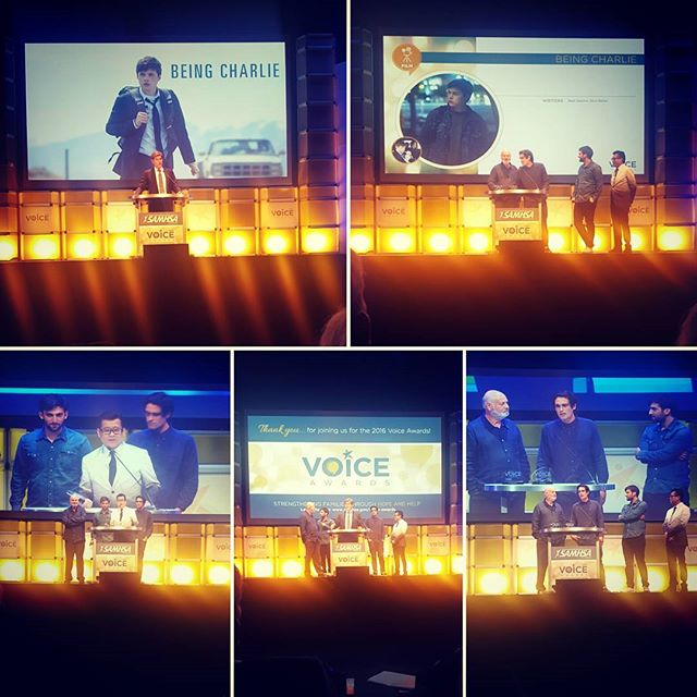 Congratulations to #BeingCharlie for their 2016 #VoiceAward! #sahmsa #robreiner #castlerock #jorvaproductions