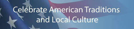 Parties for all major American holidays, adult and youth athletics, other social events and cultural activities.