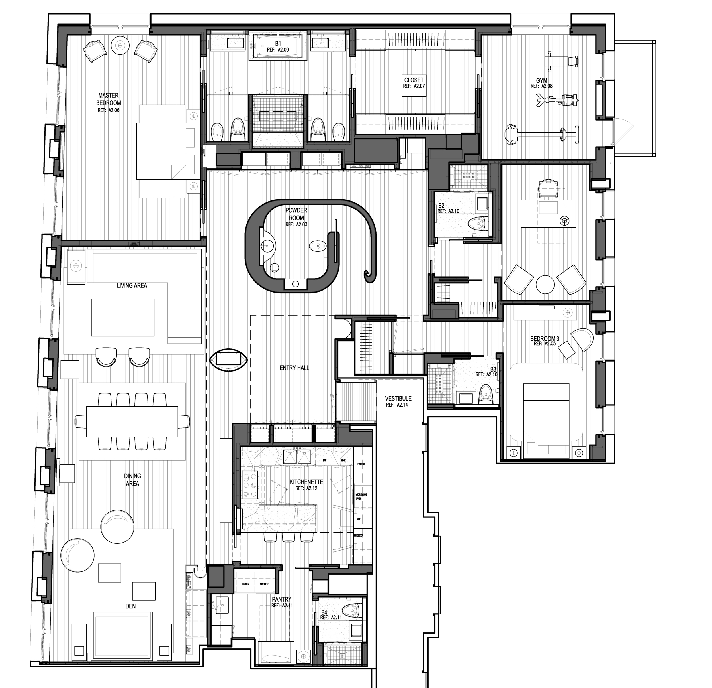 Laight Apartment Floorplan
