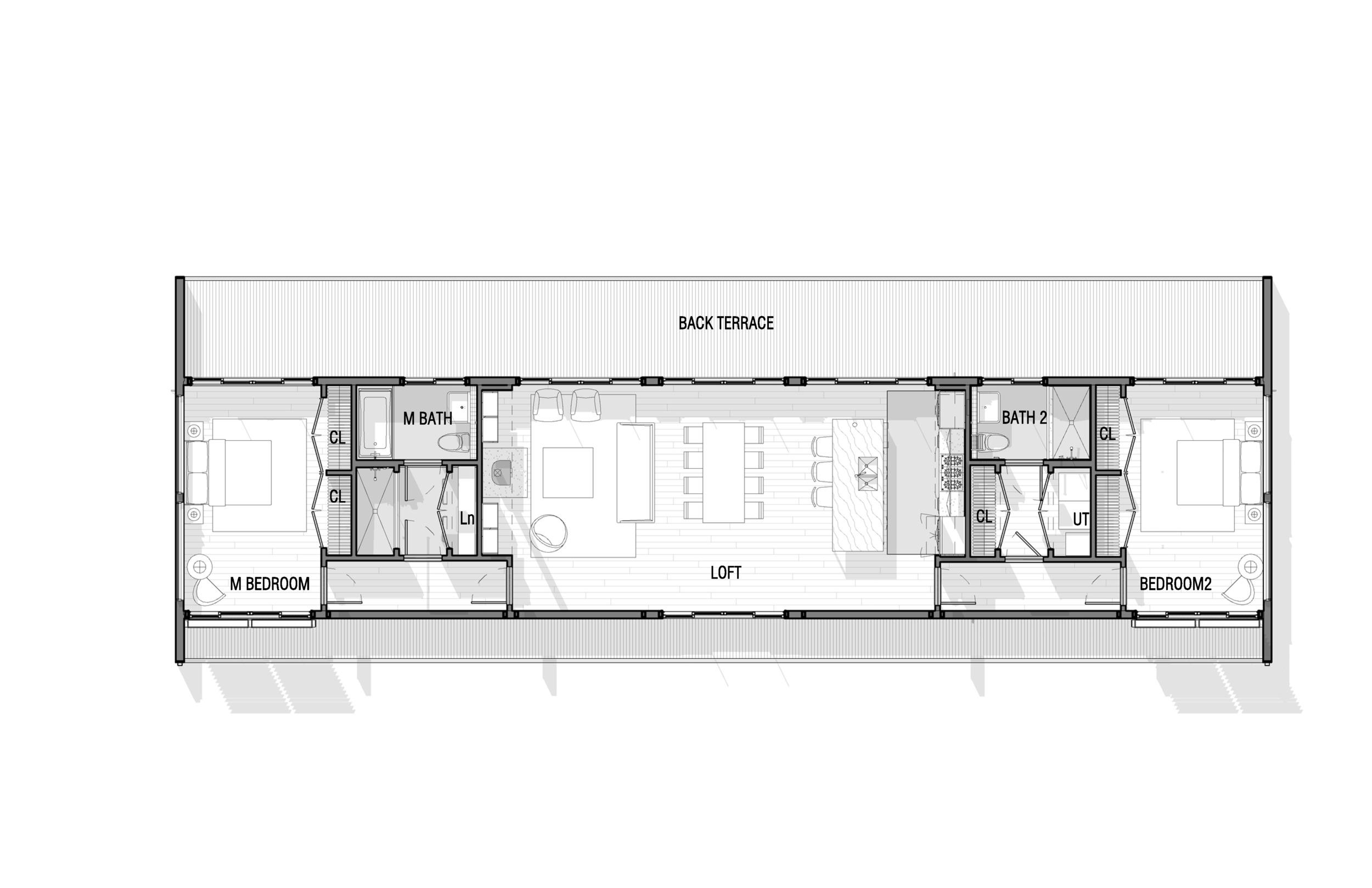 Confluence House Floor Plan