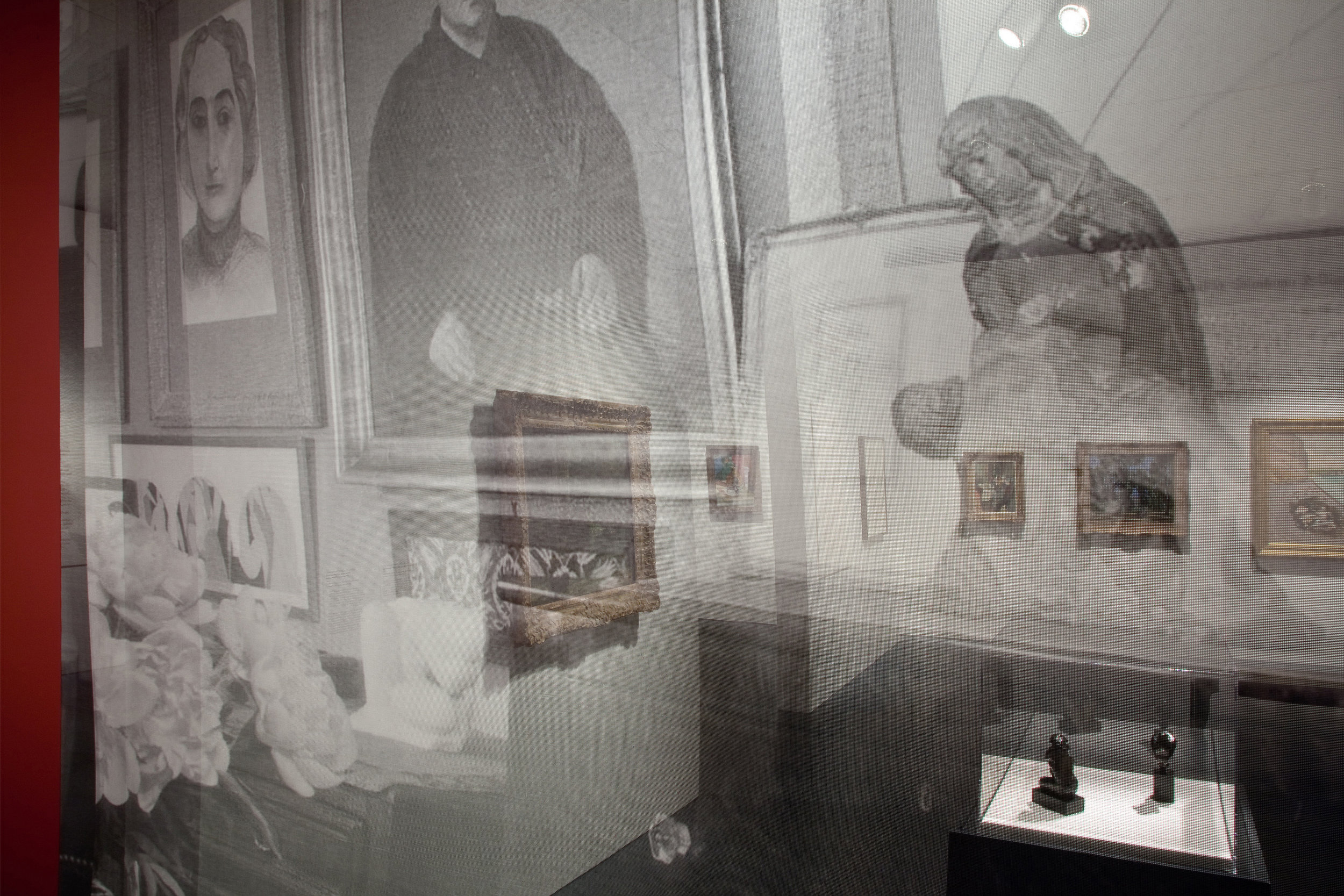 Jewish Museum Cone Sisters Gallery Scrim Detail
