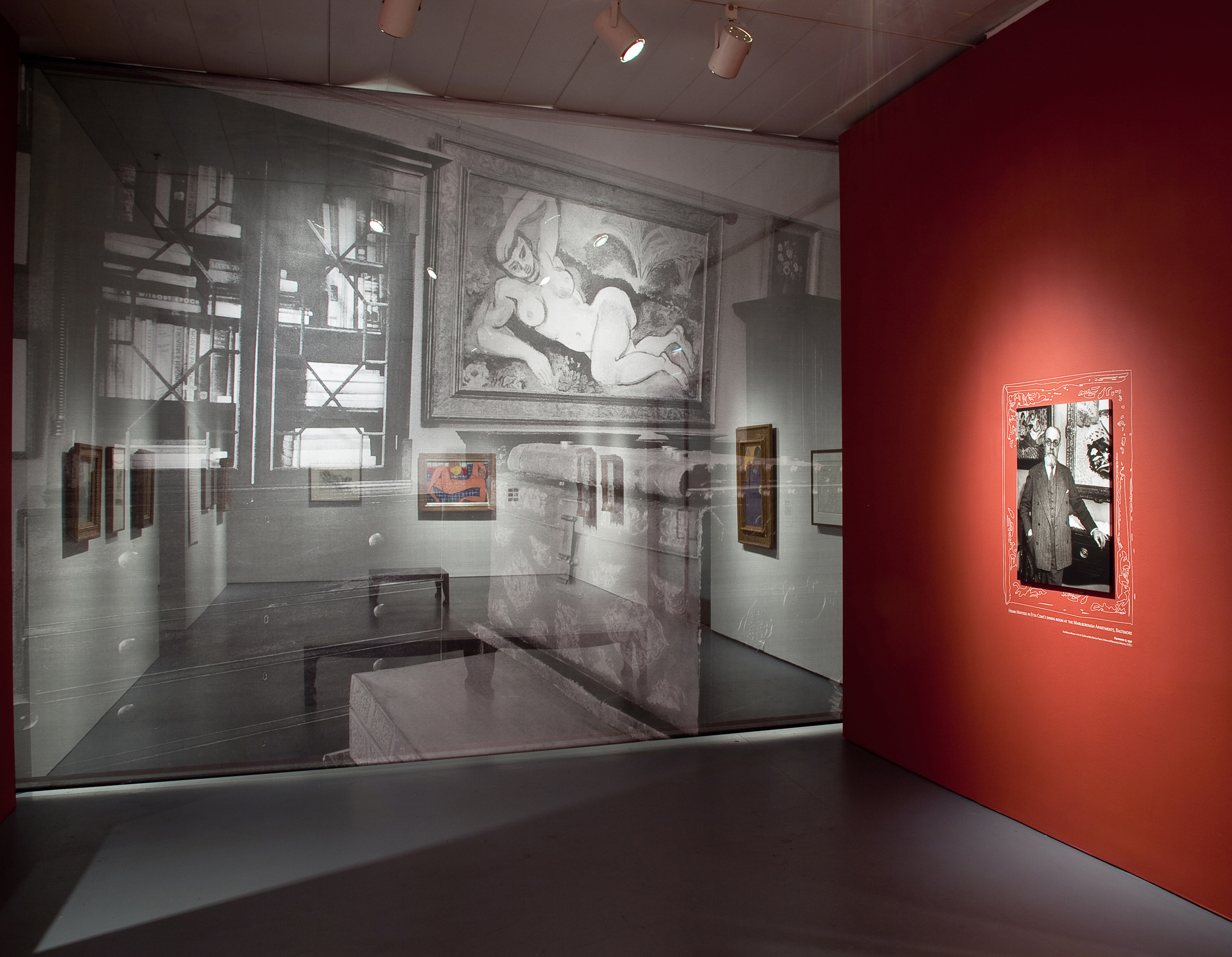 Jewish Museum Cone Sisters Gallery Scrim