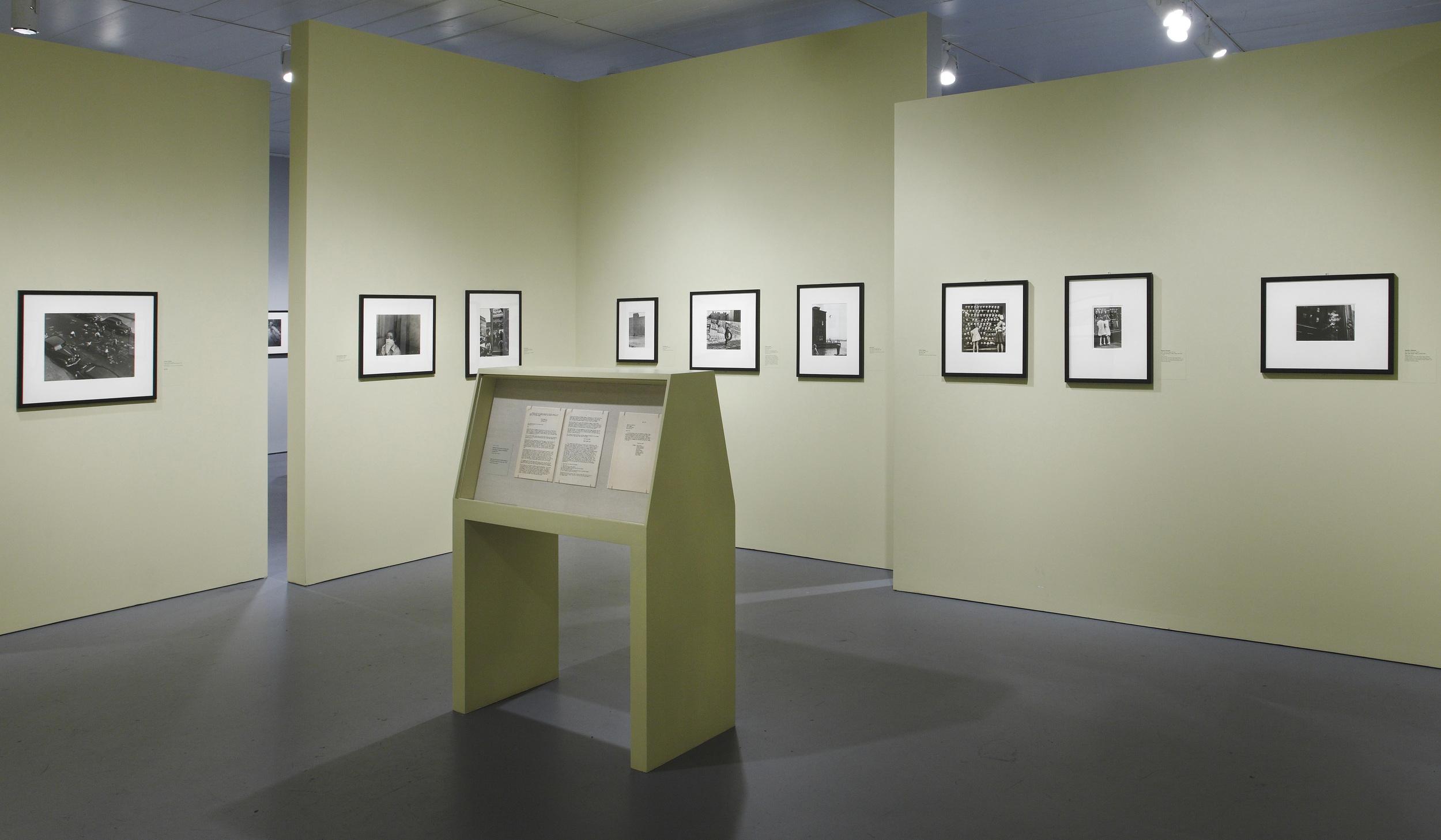 Jewish Museum Photo League Gallery Green Corner