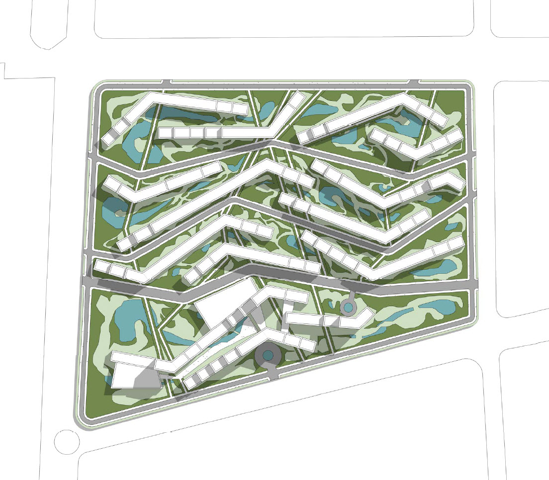Sochi Olympic Village Master Plan Layout