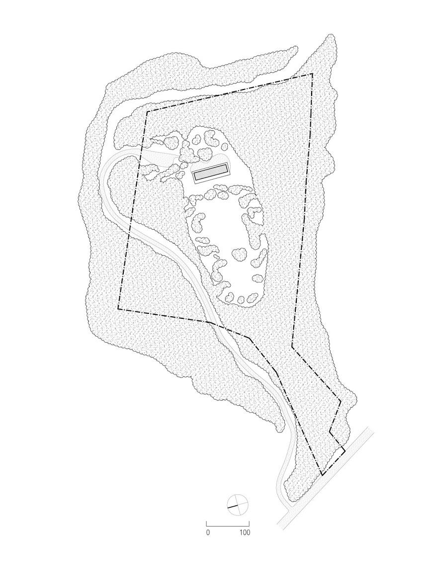 Sixteen Doors House Site Plan