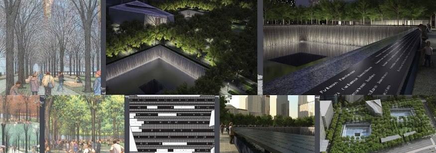 9/11 Memorial Exhibit Secular Sacred North Renderings