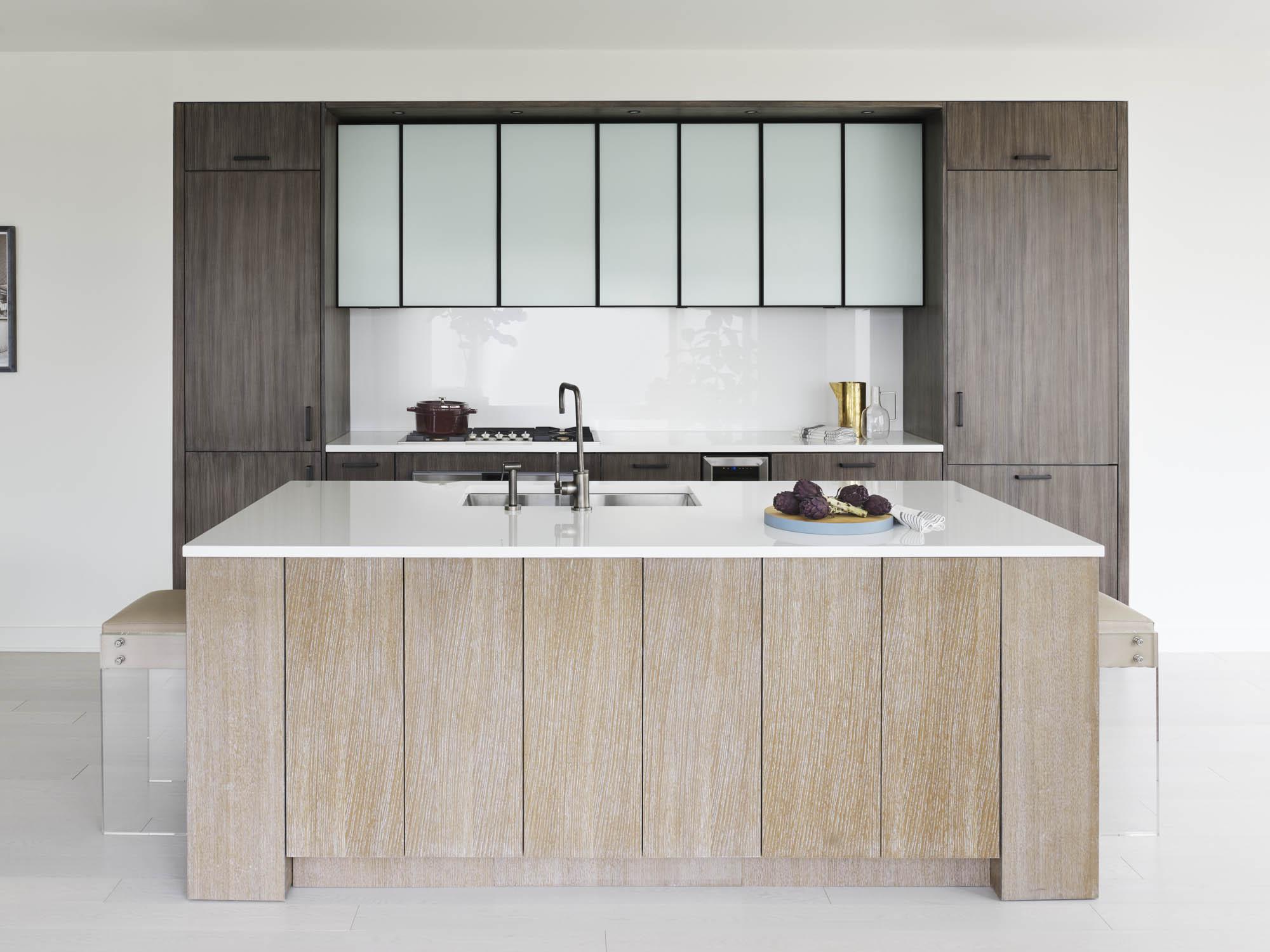 The Sutton Condominium Sales Office Kitchen