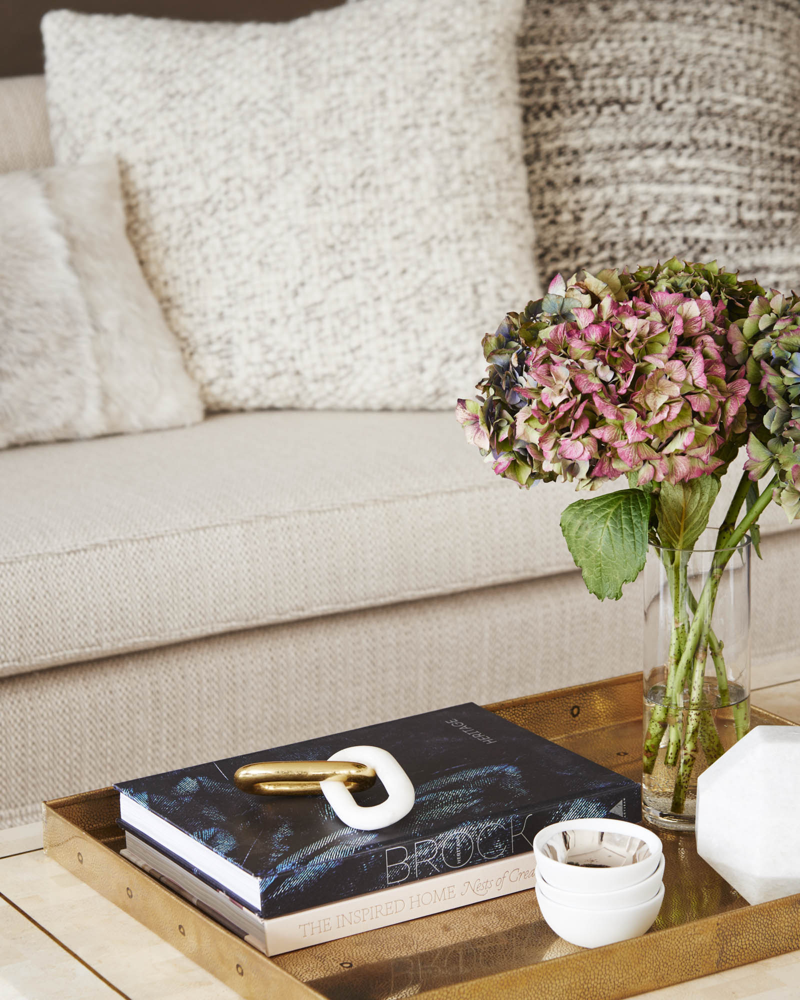The Sutton Condominium Sales Office Coffee Table Detail