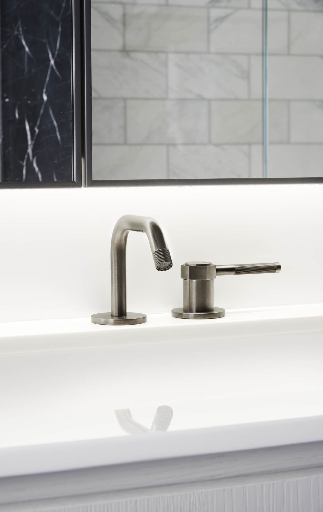 The Sutton Condominium Sales Office Sink and Faucet Detail