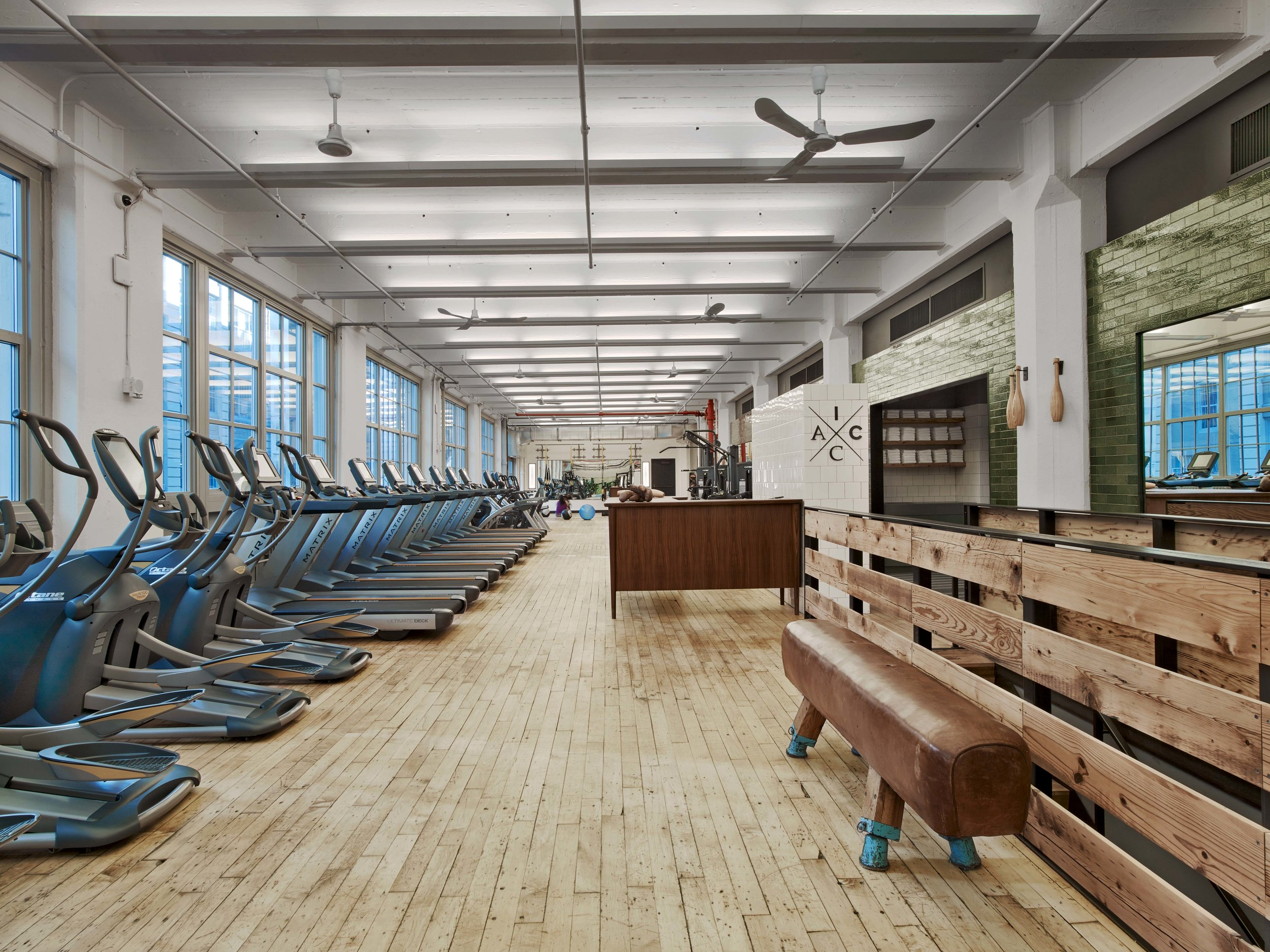Industry City Athletic Club Cardio Machines