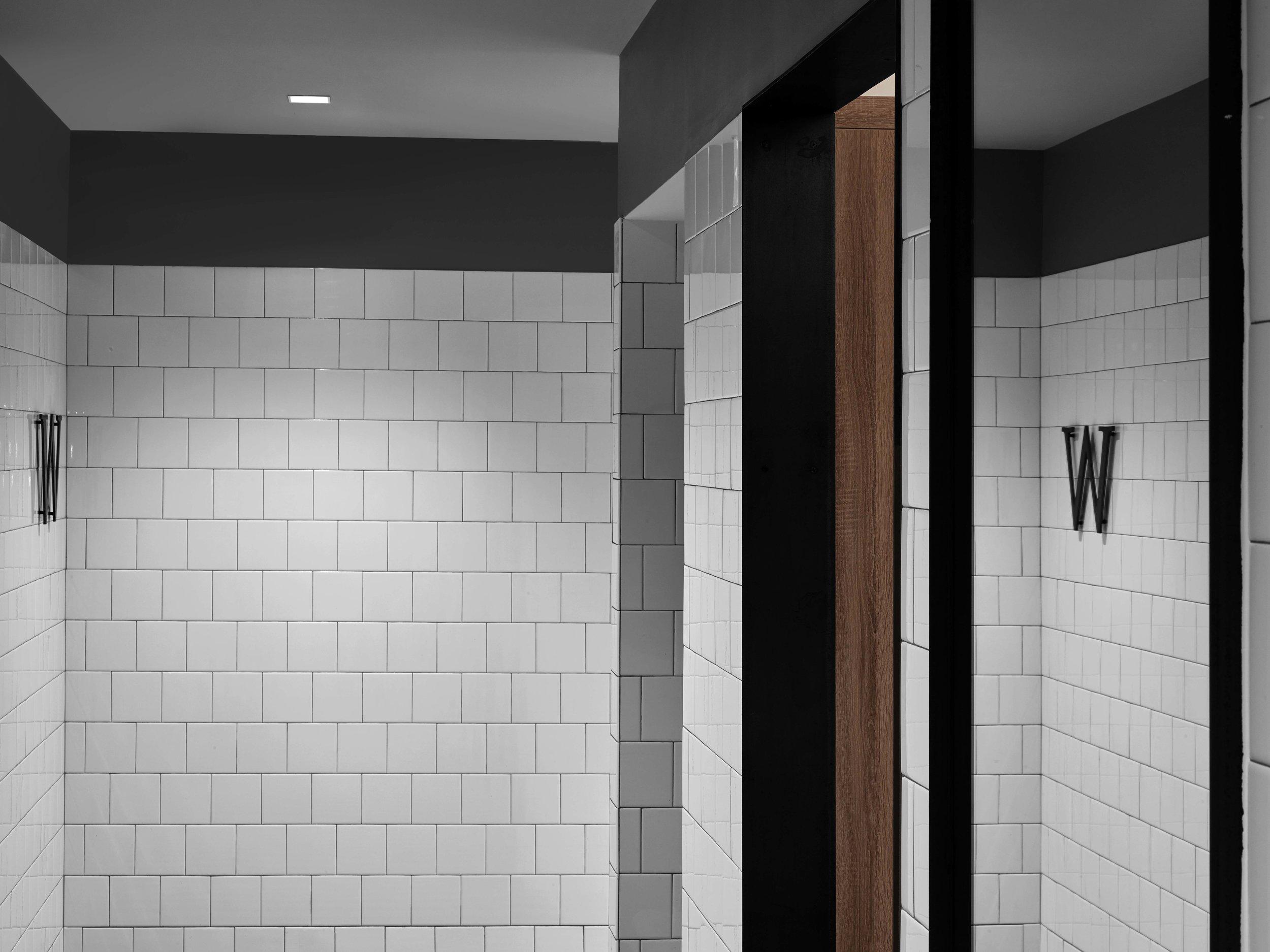 Industry City Athletic Club Women's Locker Room Entry