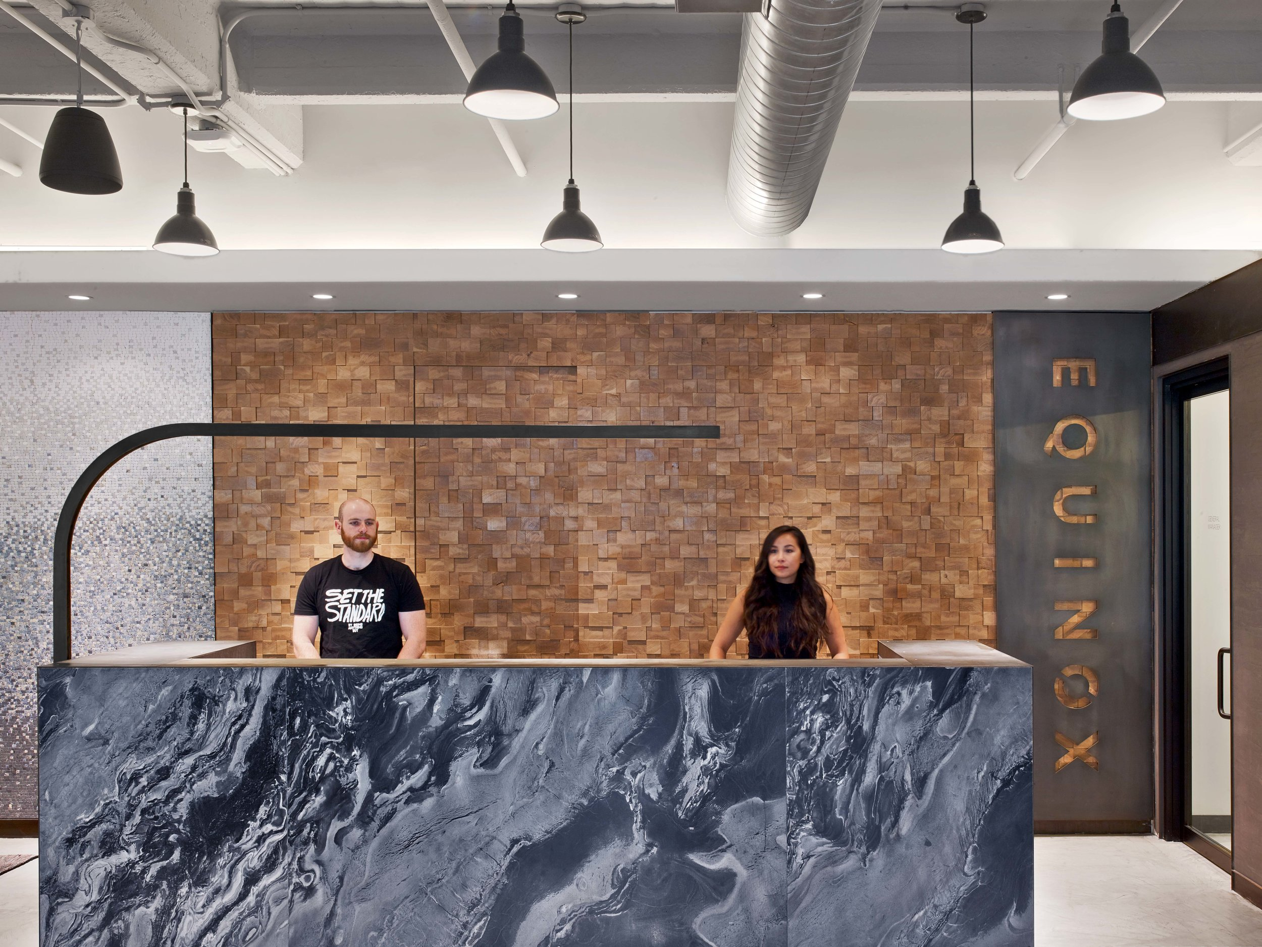 Equinox Dumbo Front Desk