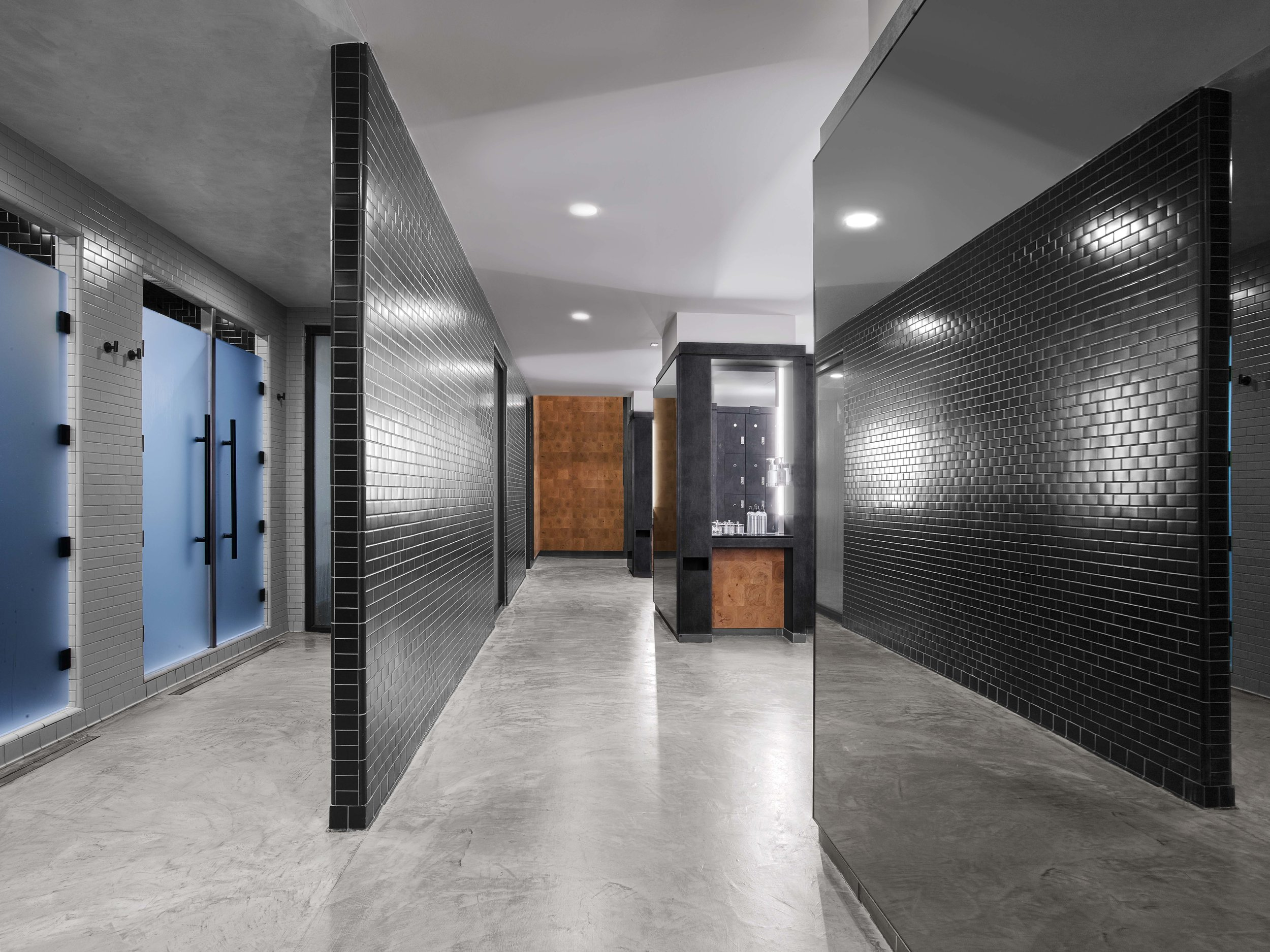 Equinox Dumbo Locker Room