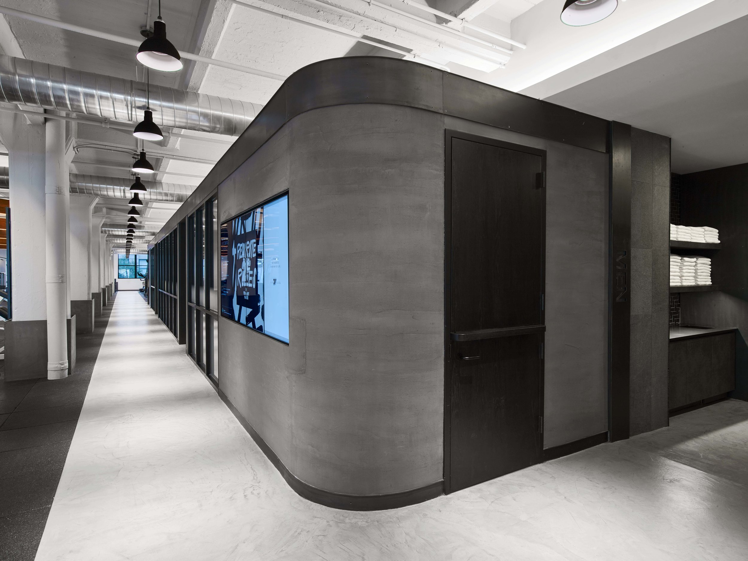 Equinox Dumbo Office Hallway
