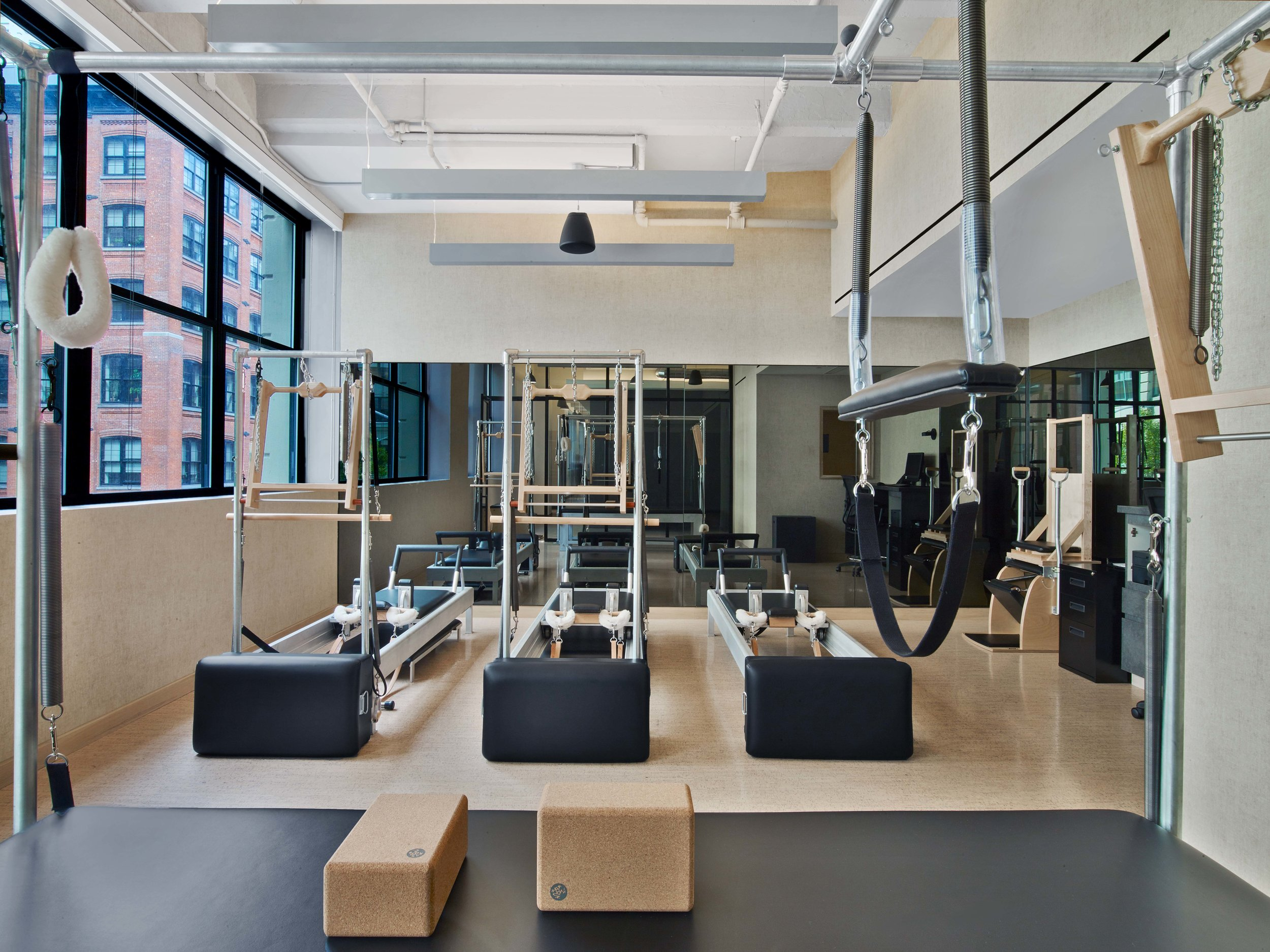 Equinox Dumbo Pilates Room