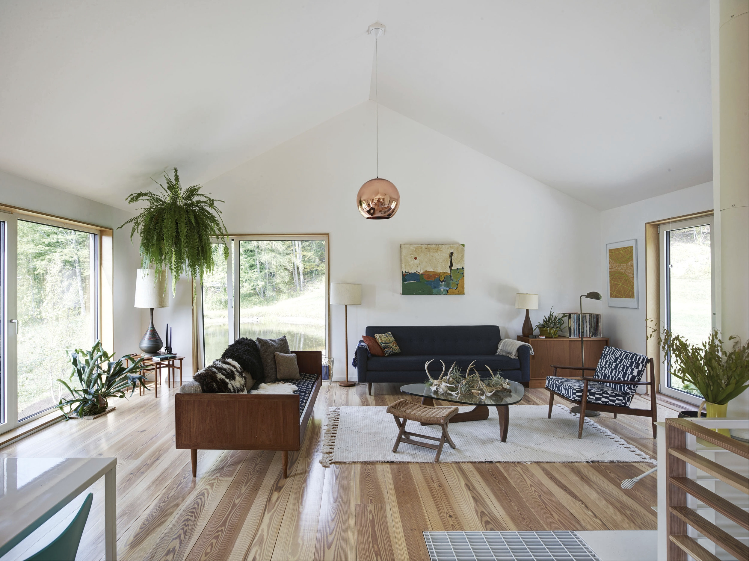 Overlook House Living Room