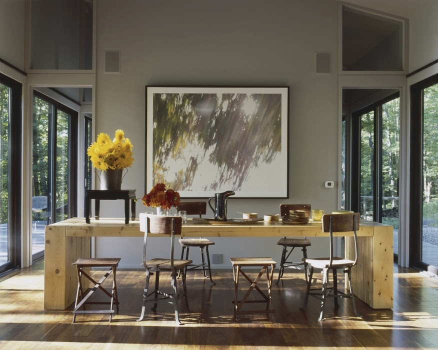 Sixteen Doors House Dining Table