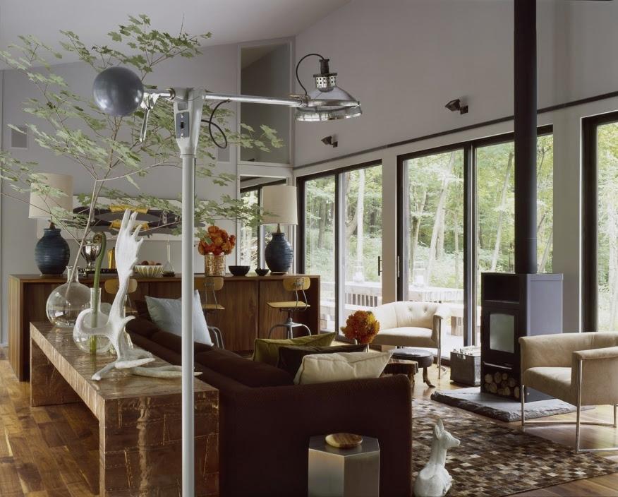 Sixteen Doors House Living Room