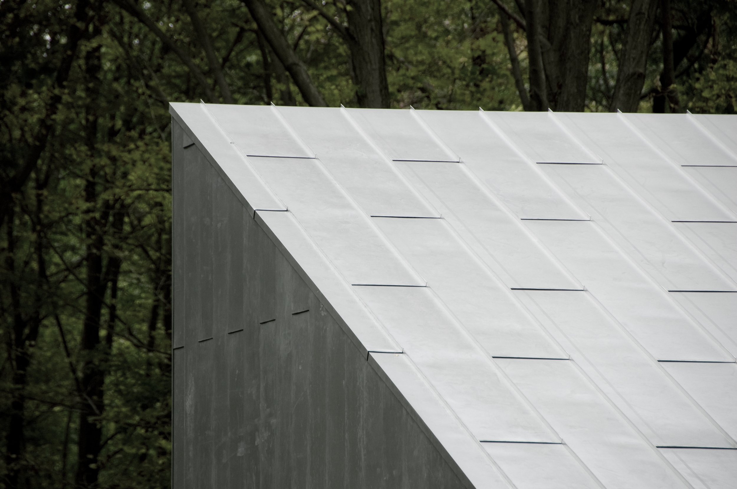 Texas Hill House Roof Detail