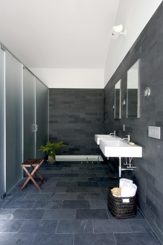 Texas Hill House Master Bathroom