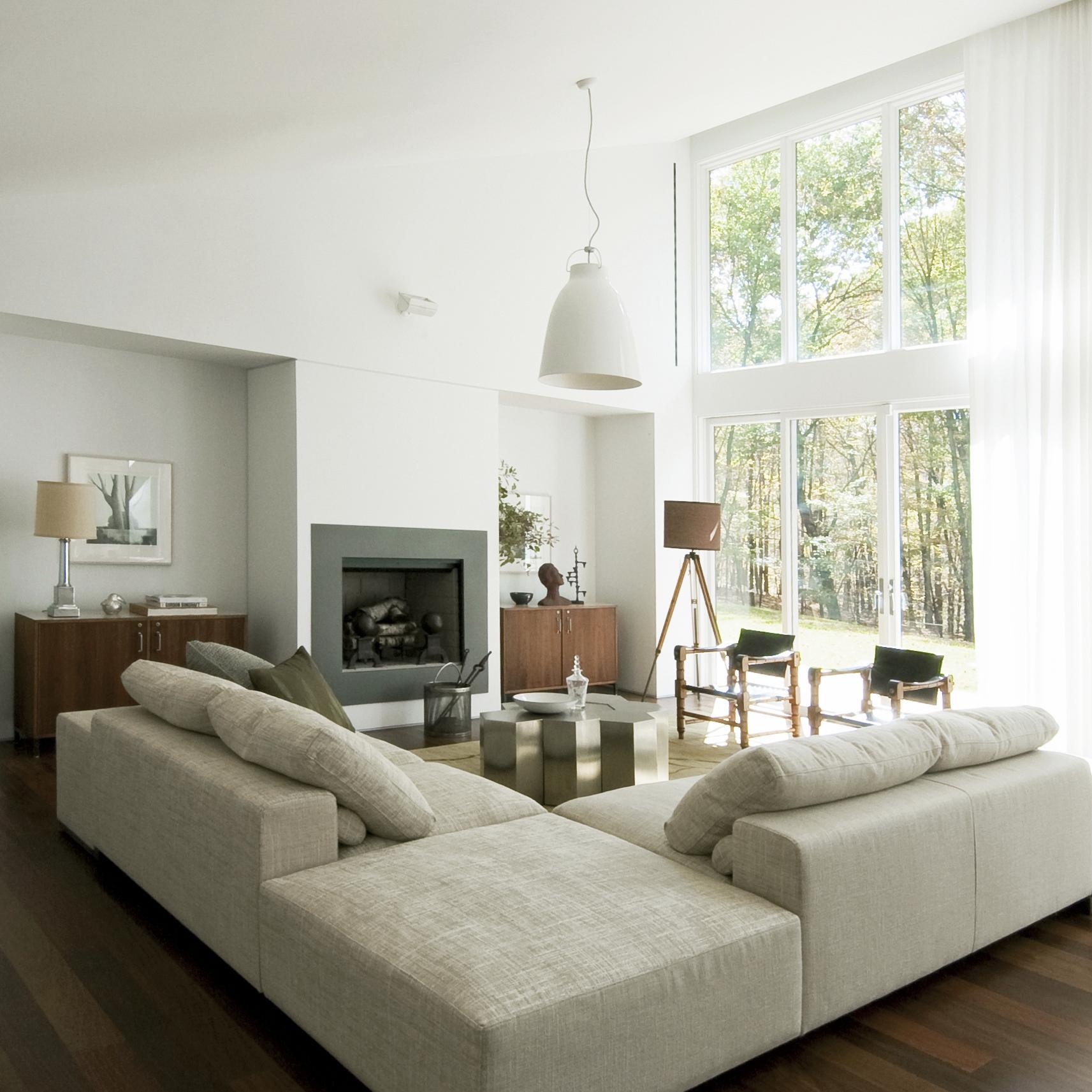 Texas Hill House Living Room