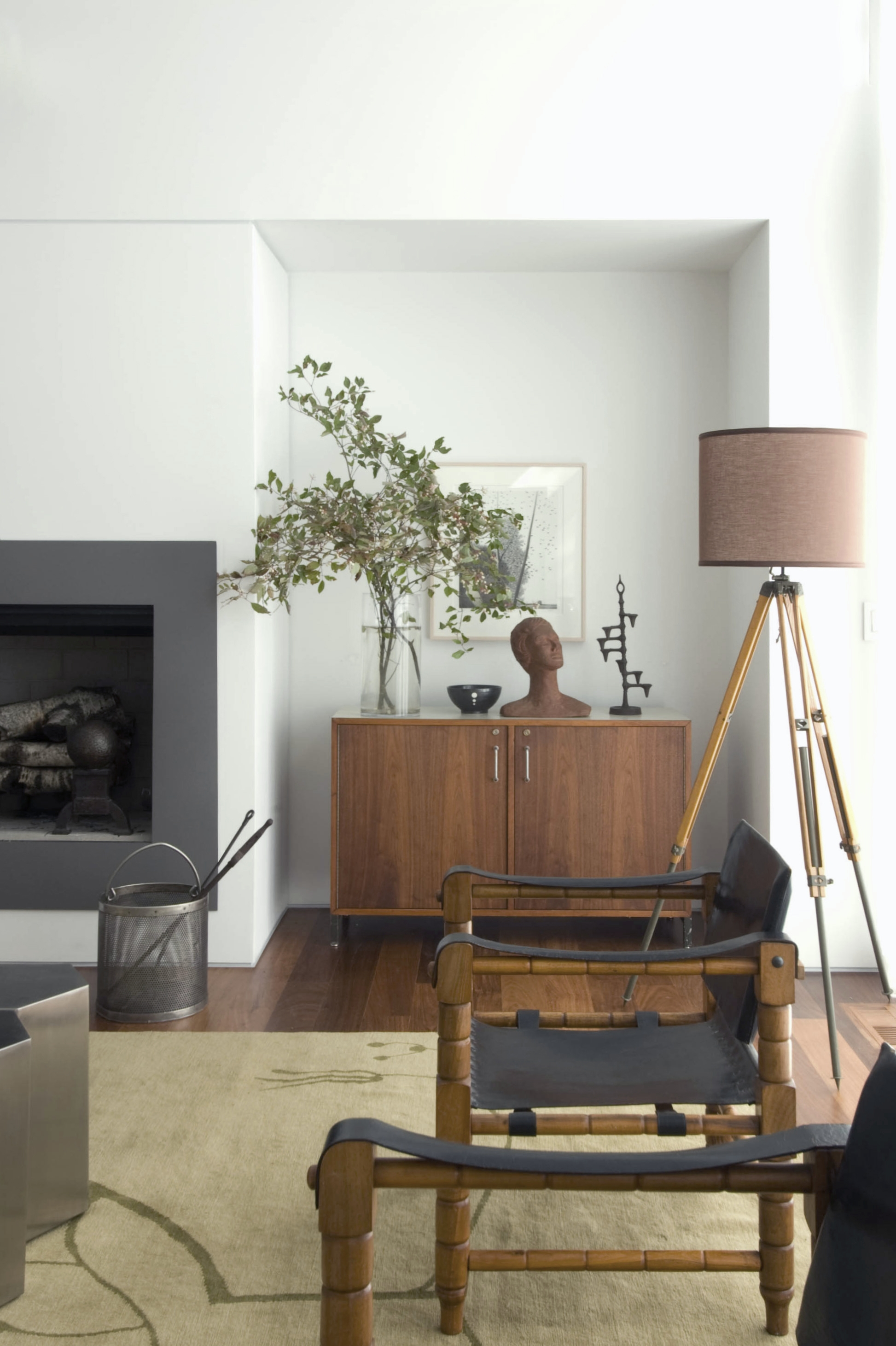 Texas Hill House Living Room Detail