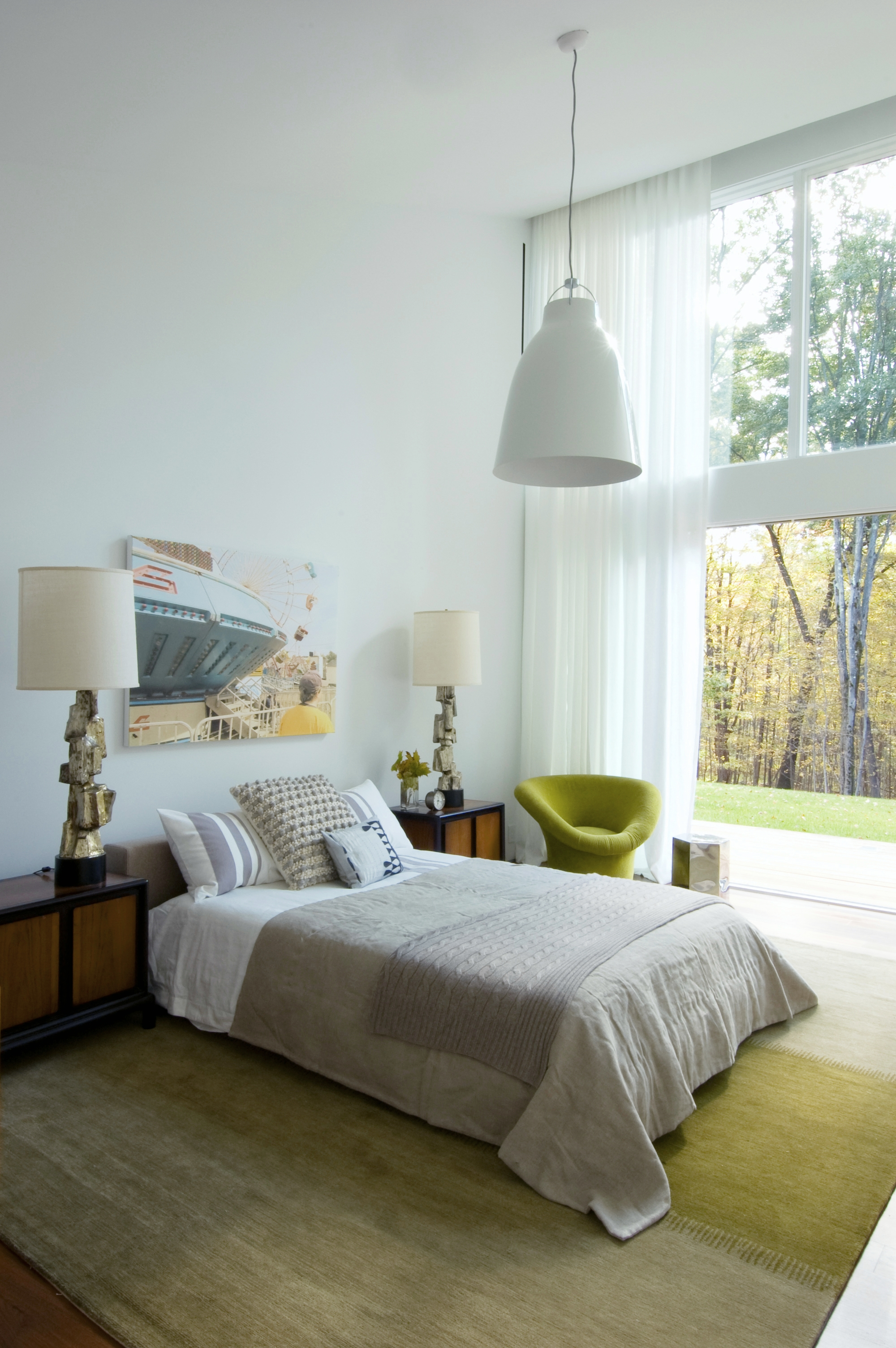 Texas Hill House Guest Bedroom