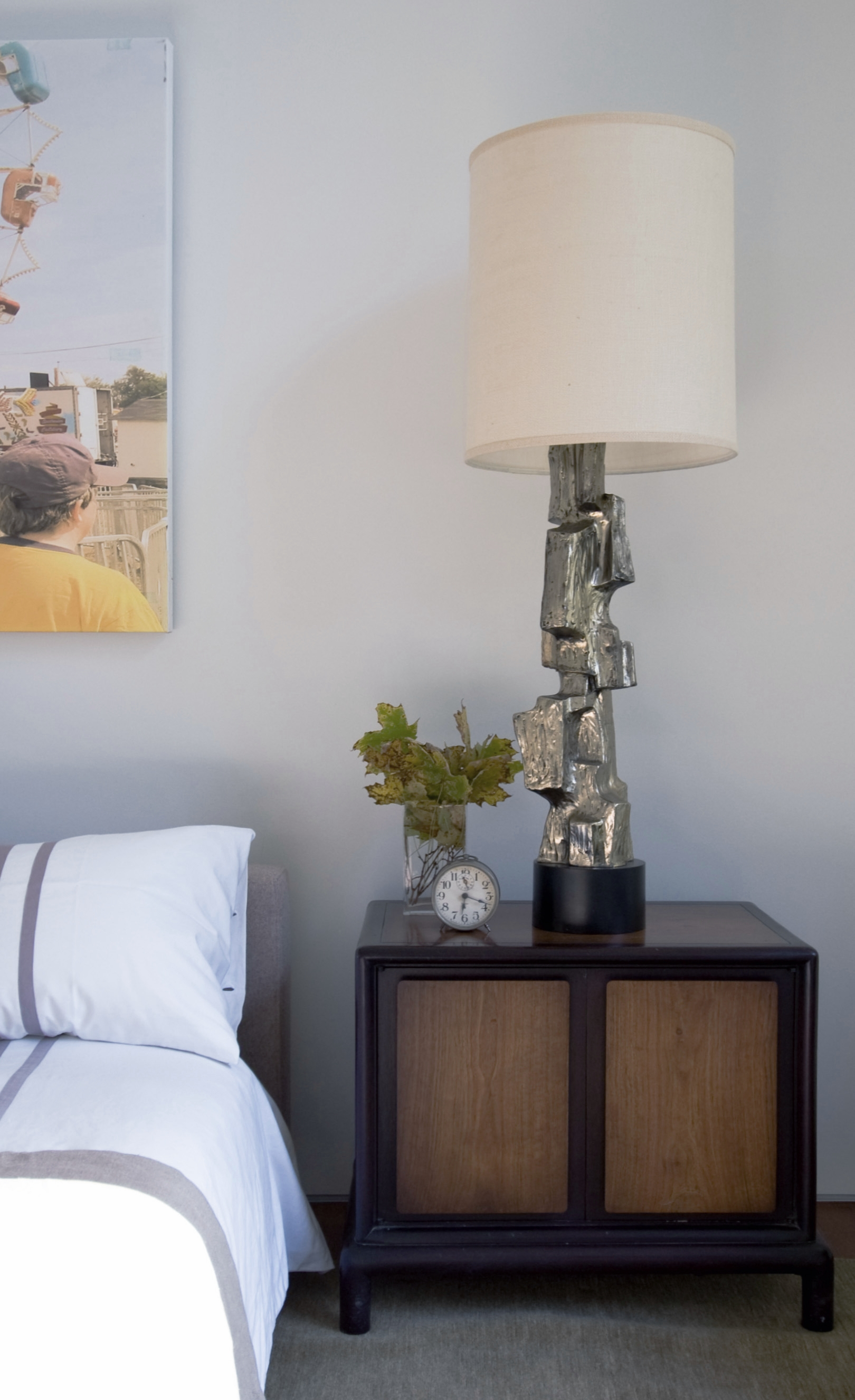 Texas Hill House Guest Bedroom Detail