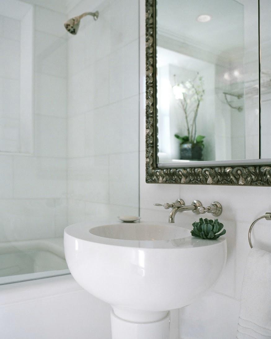 Carnegie Hill Apartment Bathroom Sink