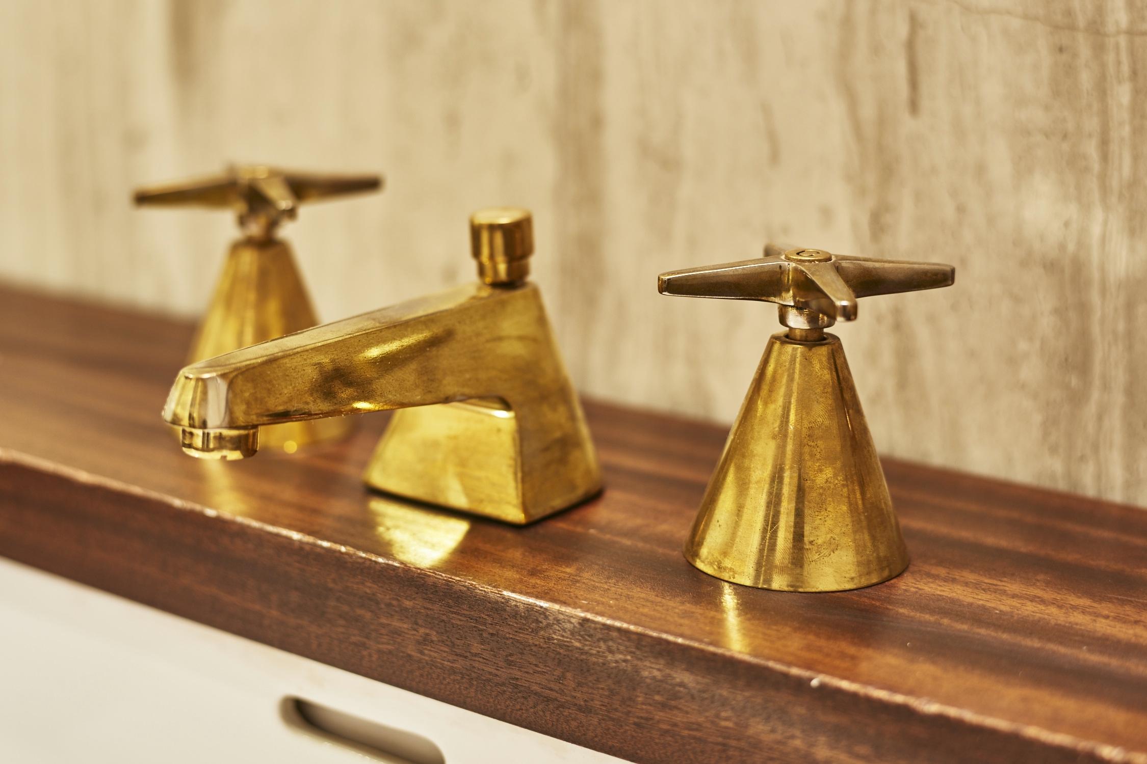 The Line Hotel DC Guest Bathroom Faucet Fixture