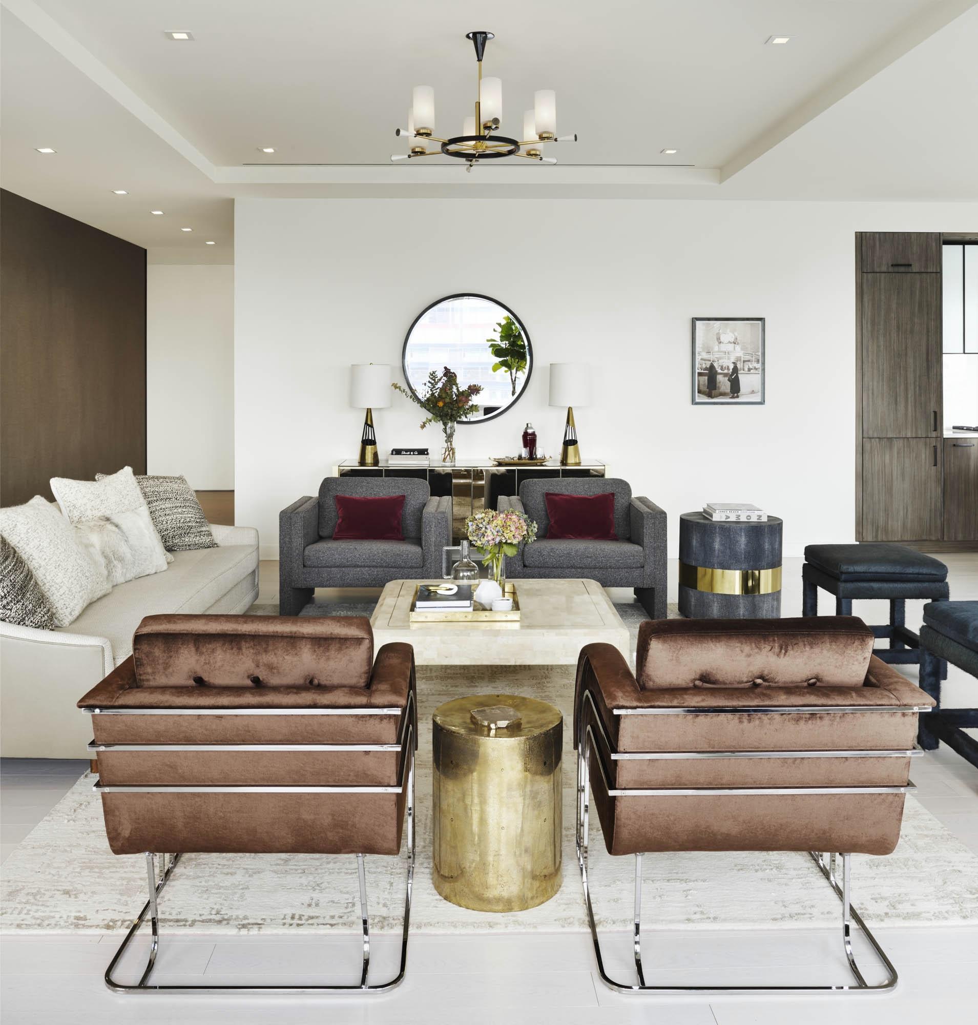 The Sutton Condominium Sales Office Sitting Area