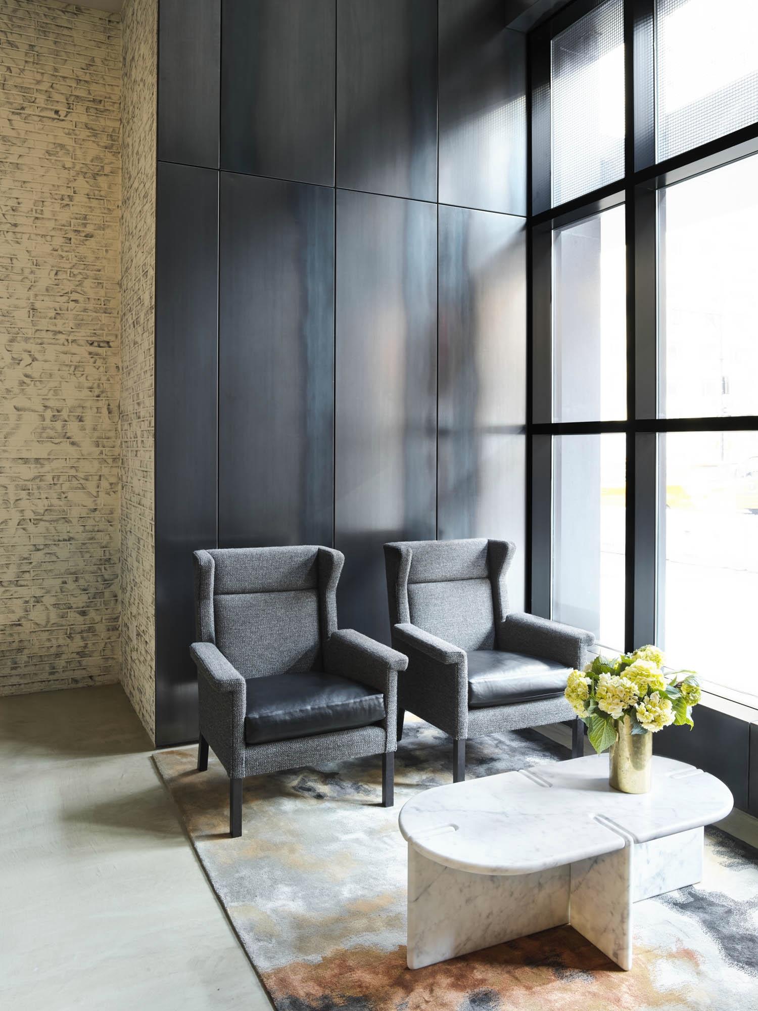 The Sutton Condominium Lobby Sitting Area