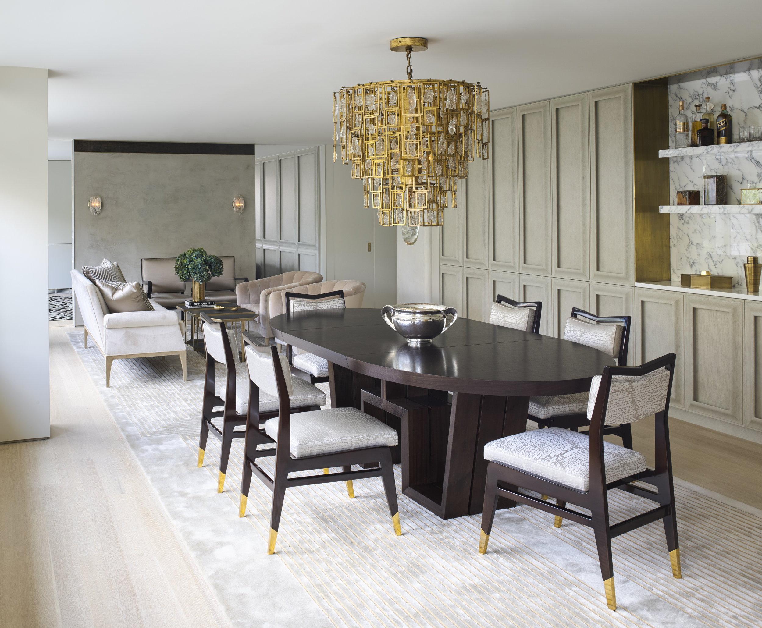 West 72nd Street Apartment Dining Room