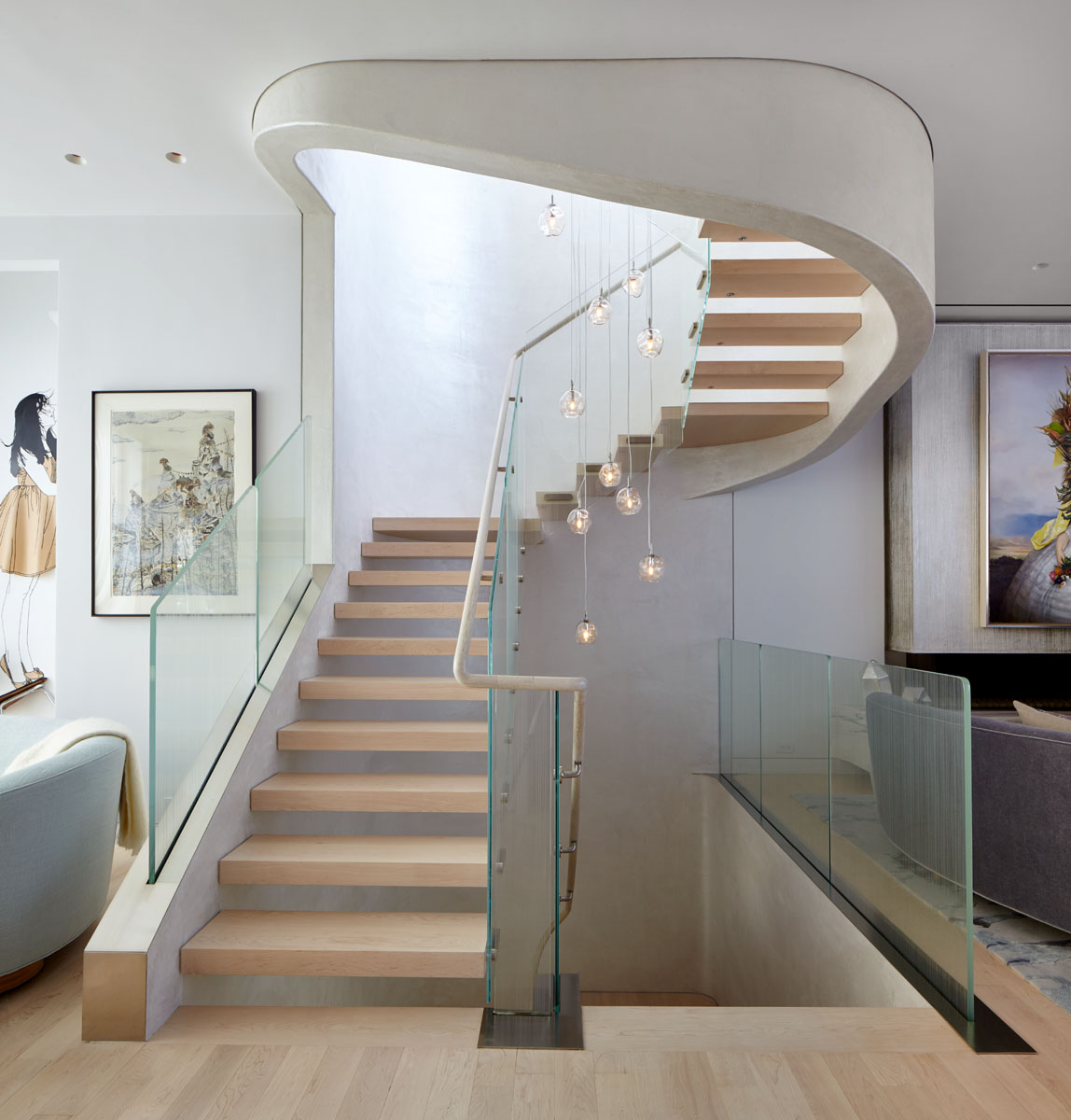 18th Street Triplex Stairs